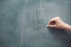 Elektrische Lamp Stock Foto's