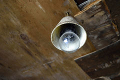 Elektrische Lamp Royalty-vrije Stock Afbeeldingen