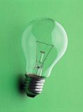 Elektrische Lampe Stockfotos