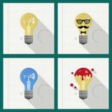 Elektrische Lampe Lizenzfreies Stockbild