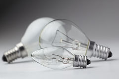 Elektrische Lampe Stockbild