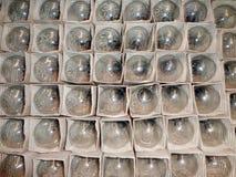 Elektrische Lampen Lizenzfreie Stockfotos