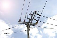 Elektrische Leitung Lizenzfreie Stockfotos