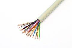 Elektrisches Verdrehtes Kabel Vektor Abbildung - Illustration von ...