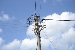 Elektrische lijn; Royalty-vrije Stock Foto
