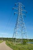 Elektrische lijnen royalty-vrije stock foto