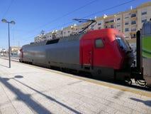 Elektrische locomotief Stock Afbeelding
