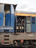 Elektrische locomotief Stock Foto