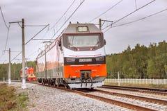 Elektrische locomotief Royalty-vrije Stock Afbeeldingen