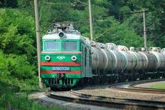 Elektrische locomotief Stock Afbeeldingen