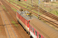 Elektrische Lokomotive E.499.3 Stockfoto