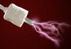 Elektrische lossing. stock afbeeldingen