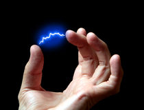 Elektrische lossing royalty-vrije stock foto