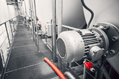 Elektrische Maschine Stockbild