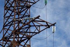 Elektrische Maste stockfotos