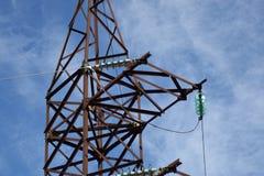 Elektrische Maste stockbilder