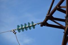 Elektrische Maste lizenzfreies stockbild