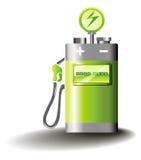 Elektrische Mobilität Lizenzfreie Stockfotos