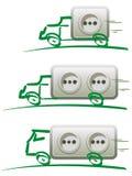 Elektrische Mobilität Stockfotos