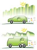 Elektrische Mobilität Lizenzfreies Stockbild