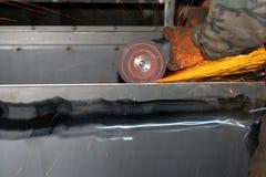 Elektrische molen Stock Foto's