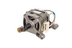 Elektrische motor van een wasmachine. royalty-vrije stock foto