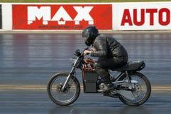Elektrische motorfiets royalty-vrije stock afbeeldingen