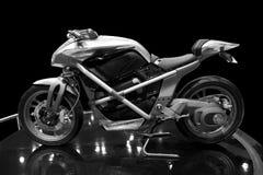 Elektrische motorfiets royalty-vrije stock afbeelding