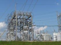 Elektrische Nebenstelle stockfotografie