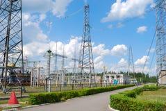 Elektrische Nebenstelle Stockfotos