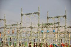 Elektrische Nebenstelle Stockbild