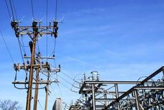 Elektrische Nebenstelle stockbilder