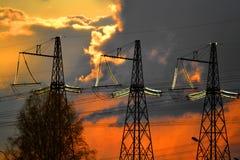 Elektrische Nebenstelle Lizenzfreies Stockbild