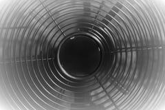 Elektrische oude dichte omhooggaand van de schoolventilator royalty-vrije stock afbeeldingen
