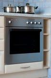 Elektrische oven Stock Foto