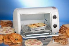 Elektrische oven-broodrooster stock afbeeldingen