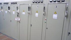Elektrische panelen Royalty-vrije Stock Fotografie