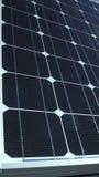 Elektrische photo-voltaische Sonnenkollektorzellen Lizenzfreie Stockfotos