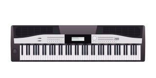 Elektrische piano Stock Foto's