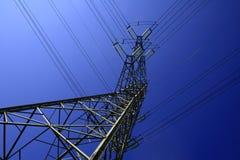 Elektrische pijler royalty-vrije stock afbeelding