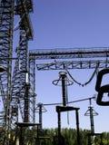Elektrische Pole Lizenzfreie Stockfotos