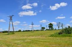 Elektrische Pole Lizenzfreies Stockbild