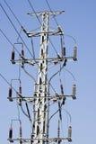 Elektrische Pyloon en hemel royalty-vrije stock foto