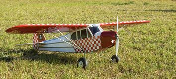 Elektrische RC-Flugzeuge Stockbild