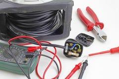Elektrische Reparaturen lizenzfreie stockfotos