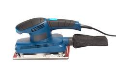 Elektrische Sandpapierschleifmaschine Stockfoto