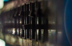 Elektrische schakelaar Stock Afbeeldingen