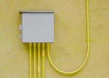 Elektrische Schalttafel Stockfoto