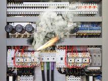 Elektrische schok royalty-vrije stock foto's
