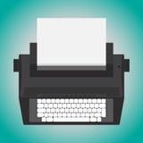 Elektrische schrijfmachine Royalty-vrije Stock Foto's